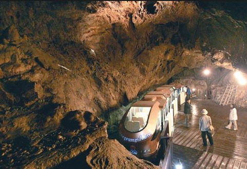 Korea private tour-Tagytravelkorea, Cave  Exploring & Ocean Rail Bike Tour : Daegeumgul Cave