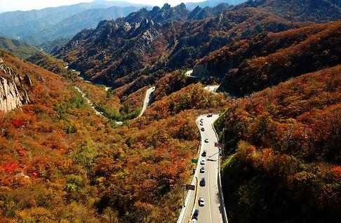 South Korea Gweongumsung peak