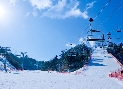 Nami Island / Elysian Gangchon Ski Resort