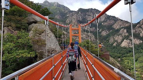 Mt. Wolchulsan National Park, Suspension bridge(Gureumdari)