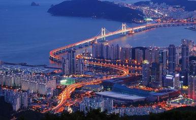 South Korea Haeundae Beach- Busan city trip