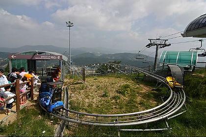 Korea private tour-Tagytravelkorea, Alpine coaster