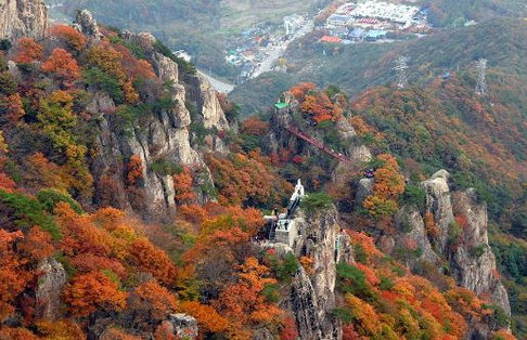Korea private tour-Tagytravelkorea,Mt. Daedunsan
