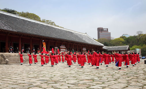 Korea private tour-Tagytravelkorea, Jongmyo Jerye were designated as the first of South Korea's Masterpieces of the Oral and Intangible Heritage of Humanity by UNESCO in 2001.