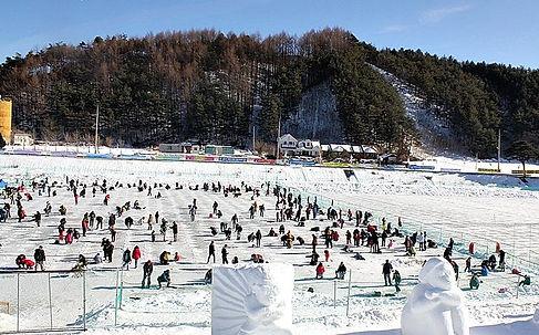 winter festival ice trout fishing-tagytravelkorea