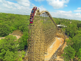 Korea private tour-Tagytravelkorea, T express wooden rollercoaster
