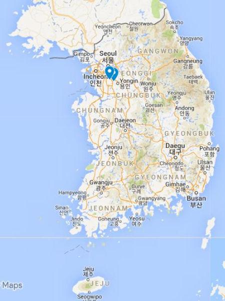 Korean folk village- Map