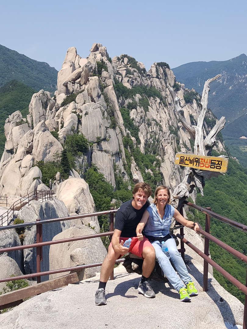Tagy Travel Korea tour photos -Mt.Bukhansan Hiking