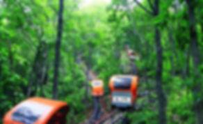 Korea private tour-Tagytravelkorea, Extreme Adventure in Cheongpung Tour : Cheongpung Lake Monorail Tour