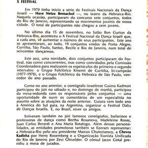 informativo sionista 1980