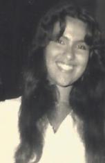 Apresentadora do festival em 1981.