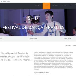 Site da Riotur 2017