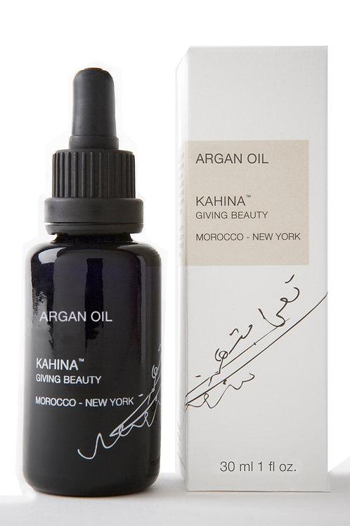 Organic Argan Oil  | KAHINA GIVING BEAUTY