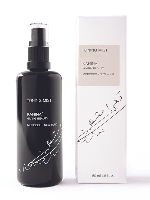 Organic Toning Mist  | KAHINA GIVING BEAUTY