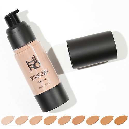 No Doubt Natural Foundation | HIRO Cosmetics