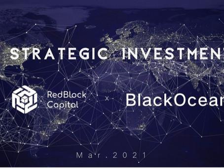 RedBlock Capital makes strategic investment into BlackOcean