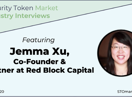 Security Token Market Industry Interviews — Jemma Xu Co-founder & Partner of RedBlock Capital