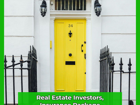 Real Estate Investors Insurance Package