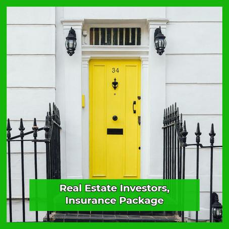 Real Estate Investors Insurance Package
