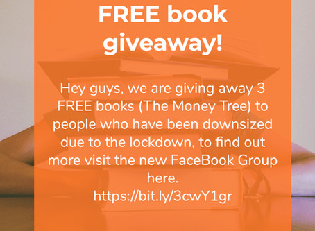 """3 FREE book giveaway """"The Money Tree"""""""