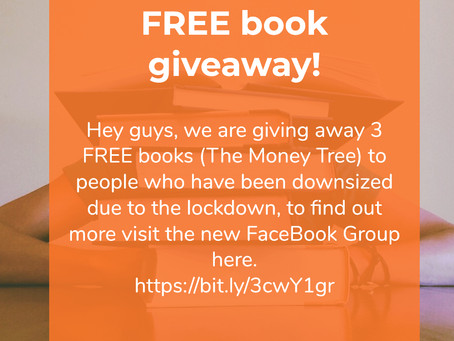 "3 FREE book giveaway ""The Money Tree"""