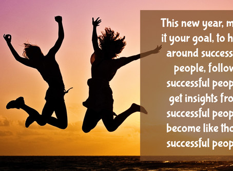 Do you want to be the successful person others want to hang with?