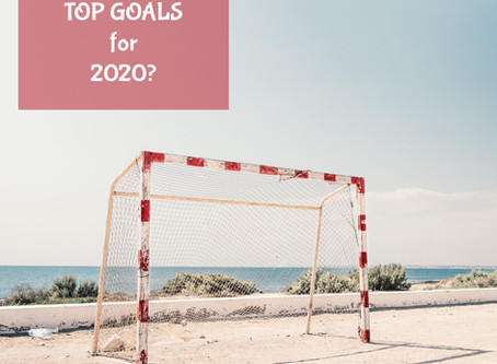 Tell us your goals for 2020, and lets us help you be accountable...