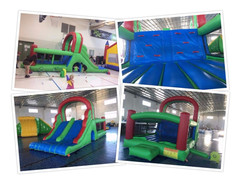 BOUNCY CASTLE WITH DOUBLE SLIDE