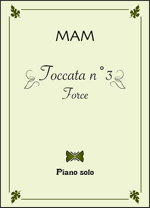 Toccata n°3 : Force