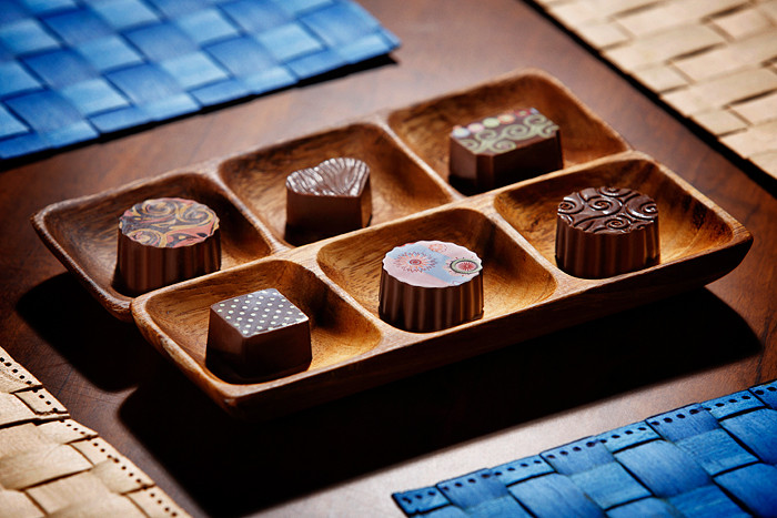 Produção Goumet - Bombom - Chocolate Belga