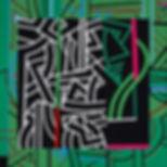 "Abstract painting ""Bilingual"""