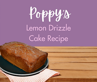 Poppy's Lemon Drizzle Cake Recipe - Face