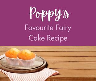 Poppy's Favourite Fairy Cake Recipe - Fa
