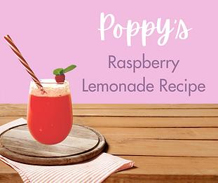 Poppy's Raspberry Lemonade Recipe - Face