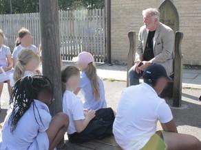 A visit to Bells Farm Primary School, Birmingham July 2021