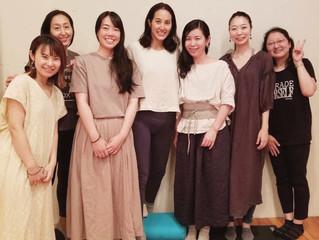 サントーシマ香先生の講座に参加してきました。