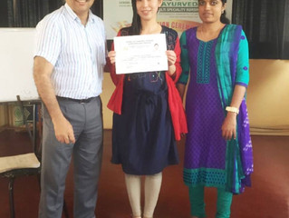 卒業 Ayurveda病院 PVA