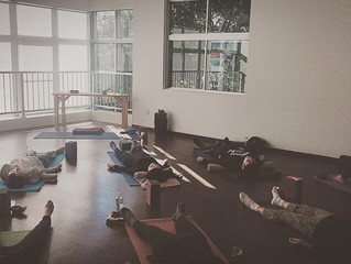 今年最後のSunday Yoga in Ayus