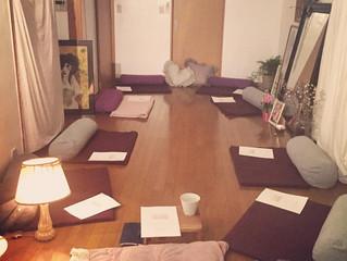 瞑想会・座学 vol.4 開催しました。