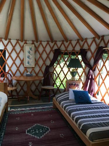 Yurt Accommodation