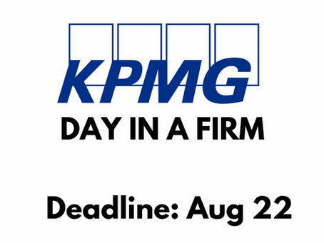 KPMG - DAY IN A FIRM