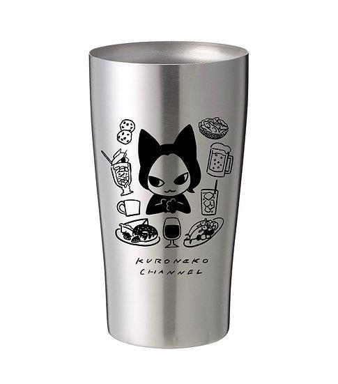 〈予約受付終了〉【再販】クロネコ乾杯オリジナルタンブラー
