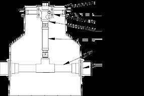 Pre-Plumbed Dispenser Sump Diagram