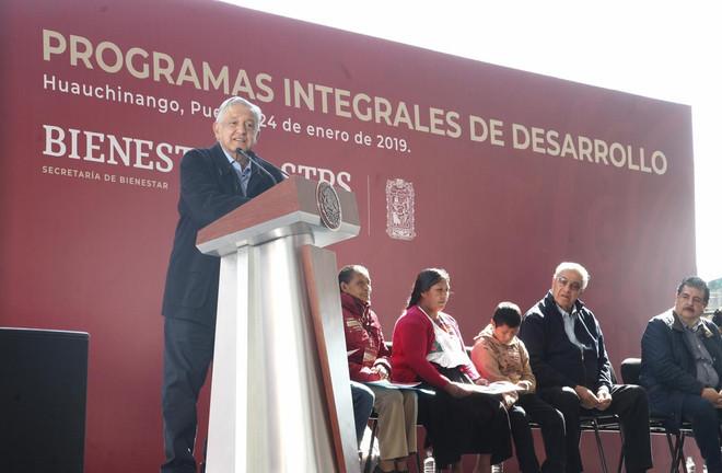 Pacheco Pulido generó confianza y consenso en Puebla: Andrés Manuel López Obrador