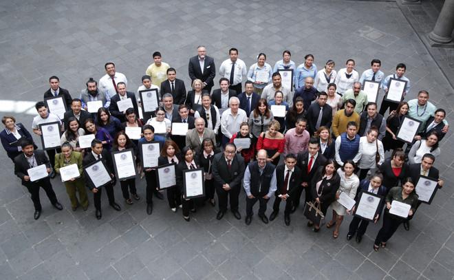 Entrega Puebla acreditaciones y certificaciones federales a prestadores de servicios turísticos