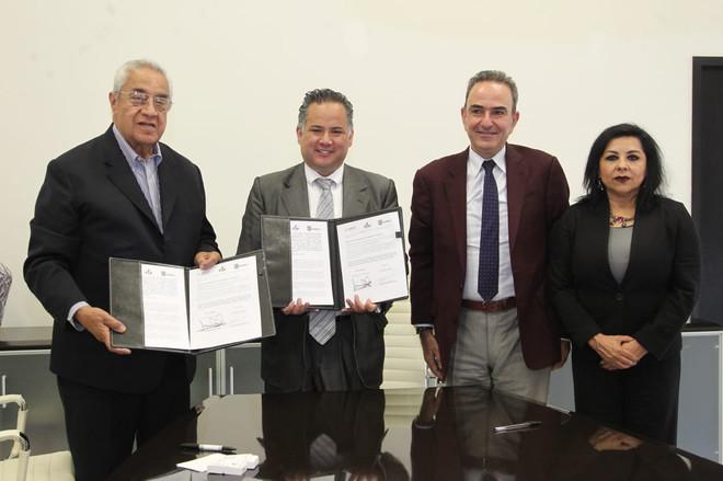 Gobierno de Puebla y unidad de inteligencia financiera de hacienda signan convenio de colaboración