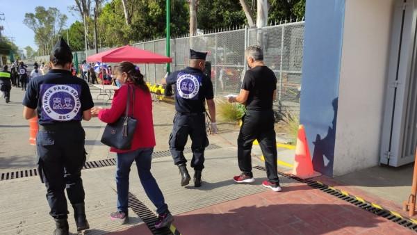 Ayuntamiento de Puebla coadyuva en la Primera Etapa de Vacunación al sur de la ciudad
