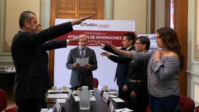 Ayuntamiento de Puebla y empresarios poblanos crean Comité para Atracción de Inversiones