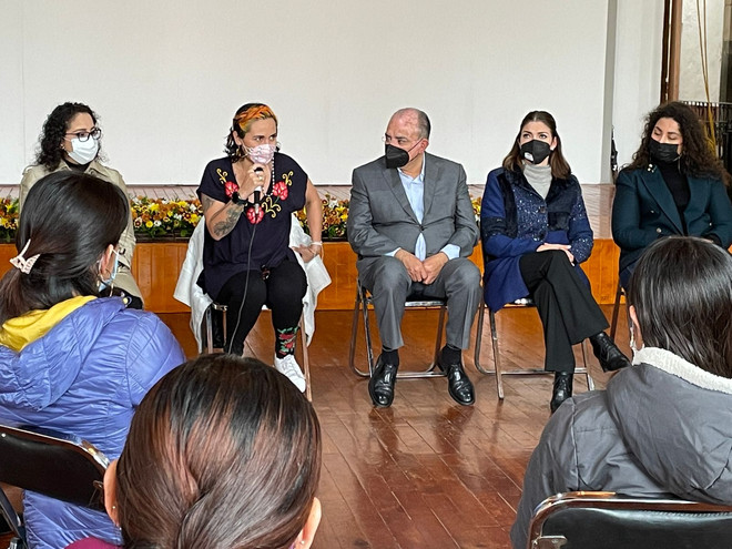 En Zacatlán se trabajará con respeto e inclusión de las mujeres : Pepe Márquez