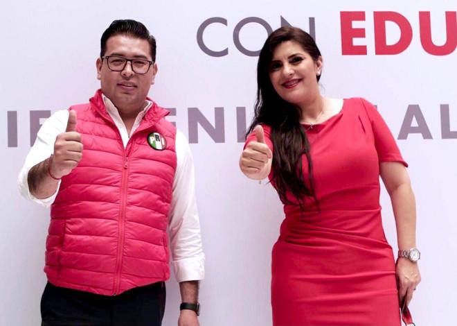 Delfina Pozos es la elegida por el distrito 8 federal por el Partido Revolucionario institucional.